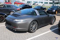 Porsche 911 type991 Targa side - Photo of Quatzenheim