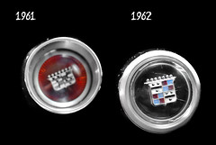 1961 and 1962 Cadillac Horn Button Cap 1