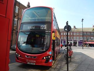 LJ60AYE Arriva London 123 DW325