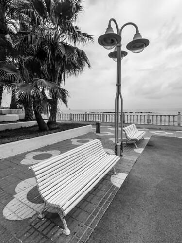 Spain - Almeria - Garrucha - Paseo del Malecon Promenade