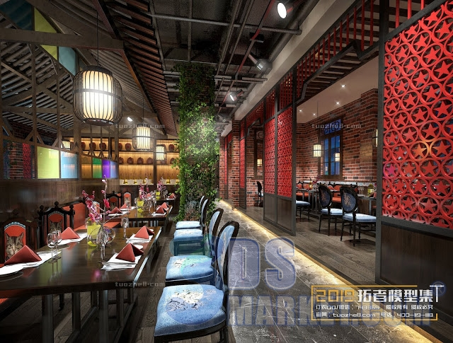 3D66 2019 - Restaurant space 3