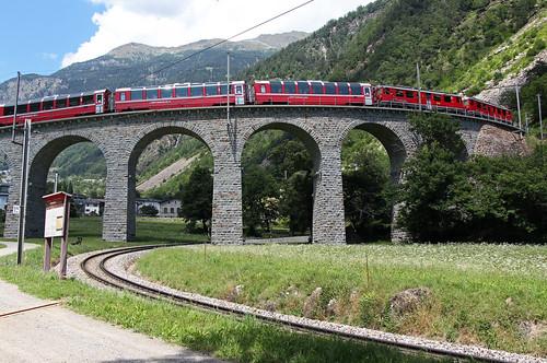 RhB Brusio spiral viaduct