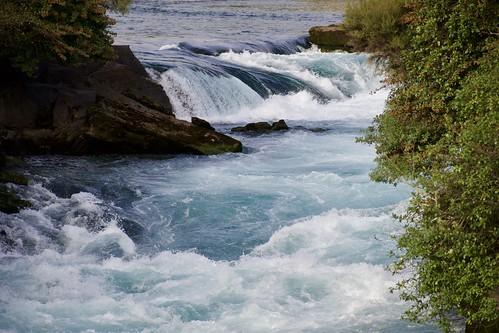 Huka Falls, Upstream