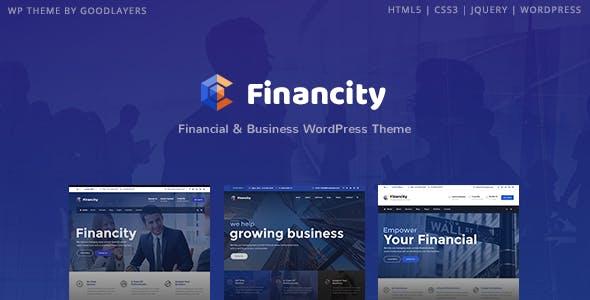 Financity v1.2.2 - Business / Financial / Finance WordPress Theme