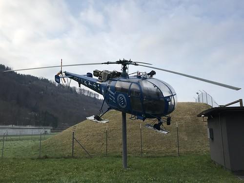 Switzerland V-262 Alouette III