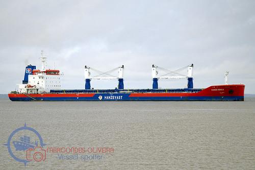 Navio HANZE GENUA (Bulk Carrier)