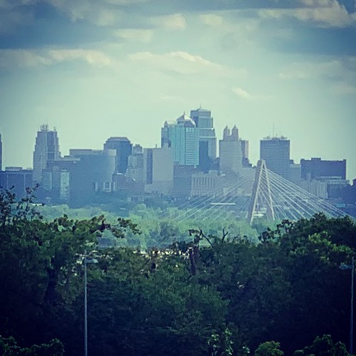 View of Kansas City from the Skybar at the Cerner Experience Center