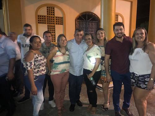 INAUGURAÇÃO DA PRAÇA NOSSA SENHORA DE GUADALUPE EM BARREIRA