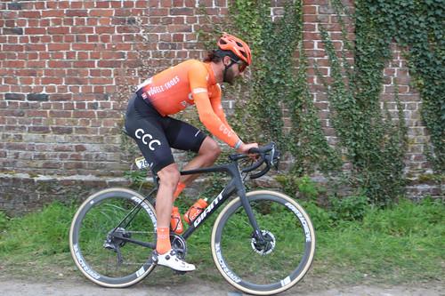 Paris-Roubaix 2019: n°26 Guillaume Van Keirsbulck (BEL) CCC