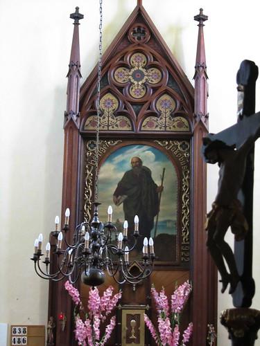 20110816 02 038 Jakobus Regelsbrunn Kirche Santiago Altar Bild