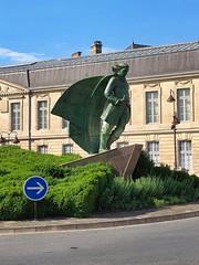 Denkmal von Jean Talon in Châlons-en-Champagne, Champagne, Frankreich