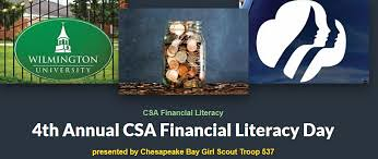 WilmU will host the Girl Scouts of the Chesapeake Bay Troop #537 at the new Brandywine campus for the 4th annual Financial Literacy Day on Sat., May 18, at WilmU's Brandywine campus.