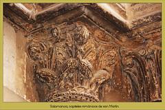 Salamanca, capiteles románicos de san Martín