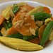 Stir Fried Carrot, Baby Corn & Sweet Pea