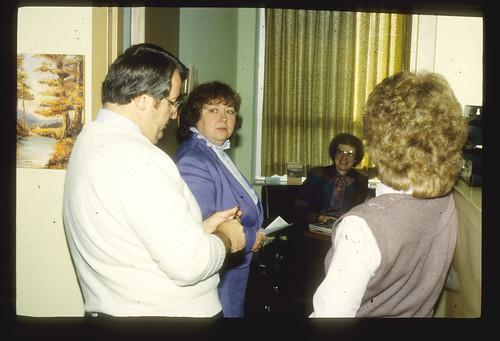 1990s Baxter, Dick; Sonja Strahm; Joy Gerig