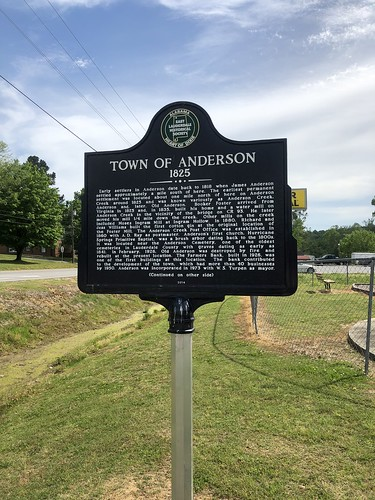 Town of Anderson 1825