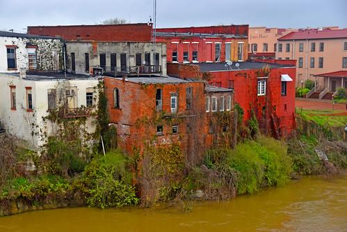 Selma (AL) at the Banks of the Alabama River March 2019