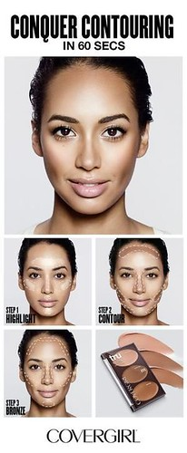 COVERGIRL shows you how to contour your face in 60 seconds! Follow COVERGIRLâ…