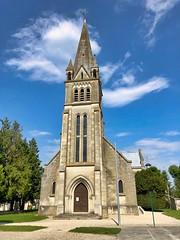 Église Saint-Hilaire de Berry-au-Bac, Frankreich