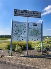 Monument des Chars d'Assaut in Juvincourt-et-Damary, Picardie, Frankreich