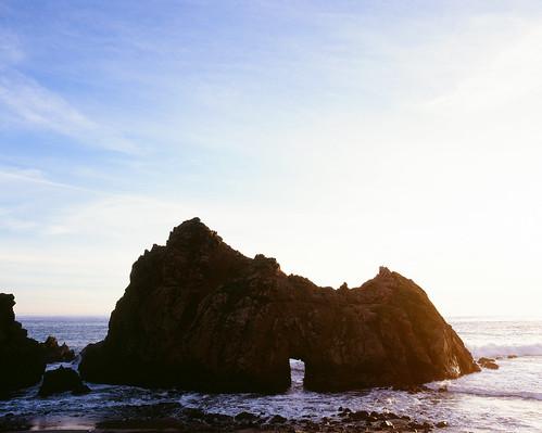 Pretty Ocean Rock