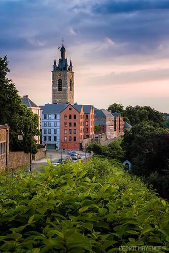 Le beffroi de Thuin - Belgique
