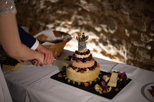 Bröllopstårta av ost