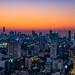 Bangkok Skyline During Sunset
