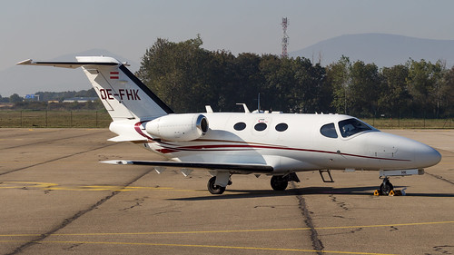 Cessna 510 Citation Mustang OE-FHK GlobeAir