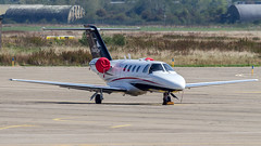 Cessna 525 CitationJet OE-FMU SalzburgJet Aviation - Photo of Hangenbieten