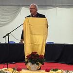 Rev'd Gavin introduces Vassula to the public
