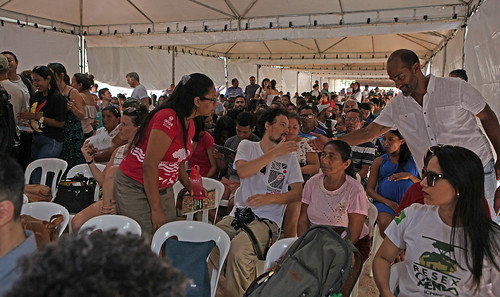 Main tent in Encontro Chico Mendes