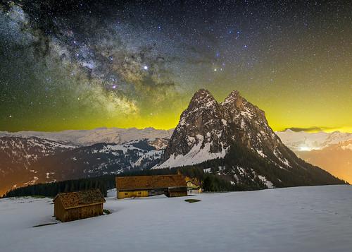The Milky Way at Haggenegg