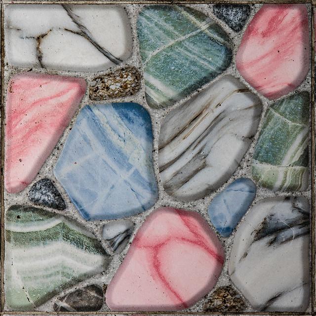 Colorful Tile, Huai Khwang Photo Walk #81