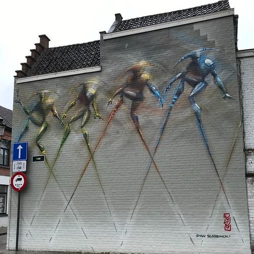 Bruges street art