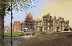 Merged image of Queen's University, Belfast