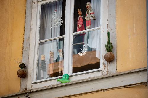 We're watching you ... seen in Erfurt, Germany