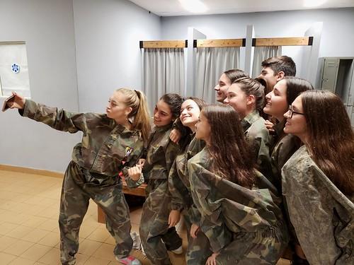 Selfie militar.