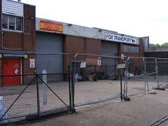 Former Fox Transport yard, Trego Road, E9
