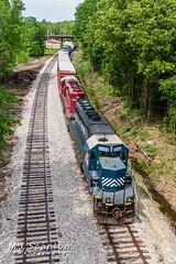 HLCX 8148   EMD SD40-2   Grenada Railroad