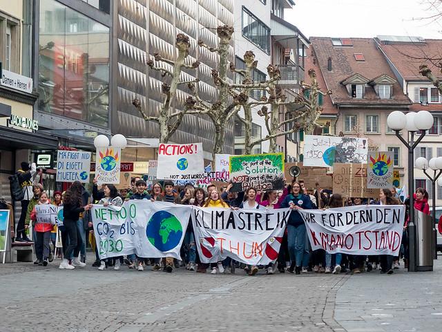 Klimastreik Thun 15.03.2019