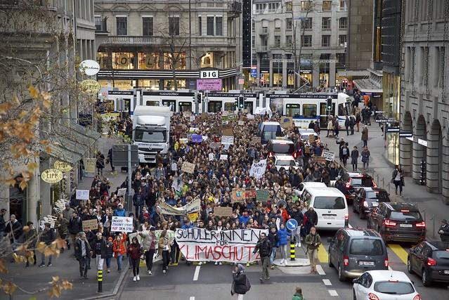 Klimastreik Zürich 21.12.2018