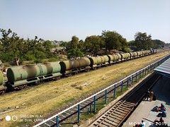 Tanker train.