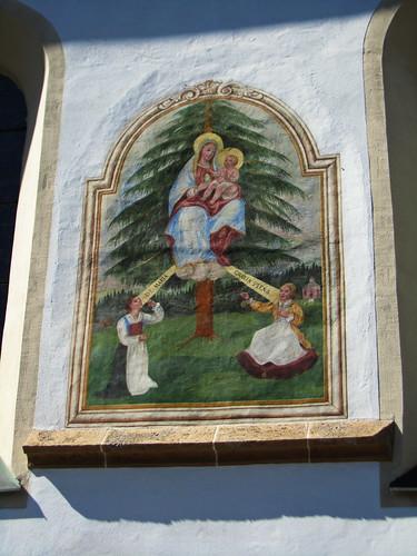 20110910 25 383 Jakobus Terfens Kirche Maria Bild Maria Larch