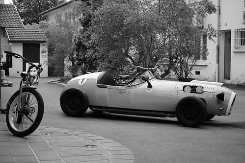 Stirling Moss (fake).