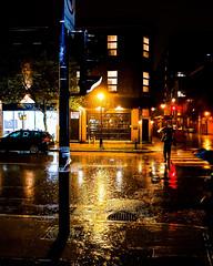 Knox Bar in Rainstorm (Montreal)