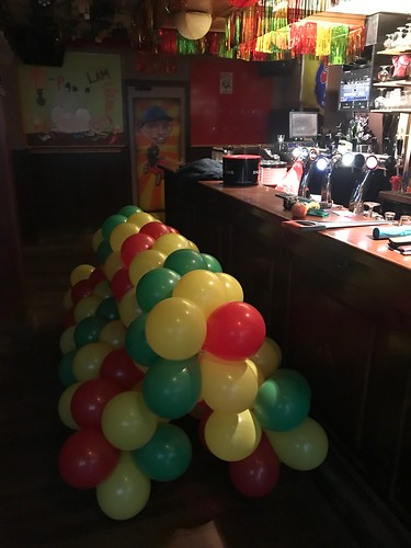 Ballonslinger Cafe het Zwarte Schaap Breda