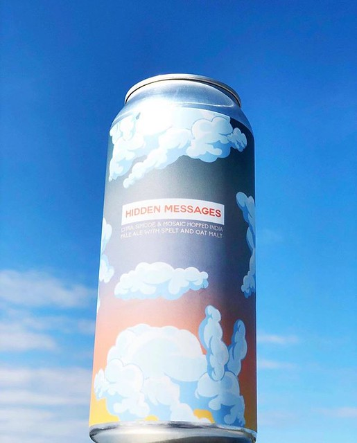 ����� Hidden Messages ����� We traveled to Chicago to @pipeworksbrewing a couple months ago for this collaboration. This is a Citra, Simcoe & Mosaic hopped IPA with Spelt & Oat Malt. . This is only available in Chicago