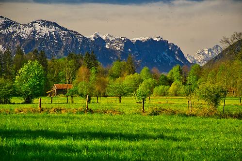 Near Freilassing, Bavaria
