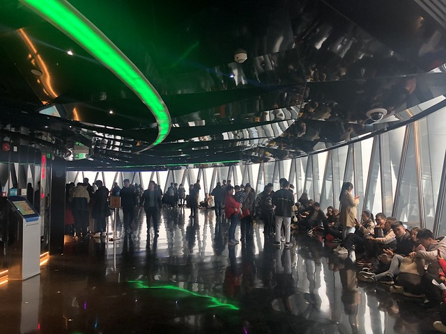 Inside the Canton Tower, Guangzhou
